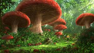 Mushrooms by JoakimOlofsson