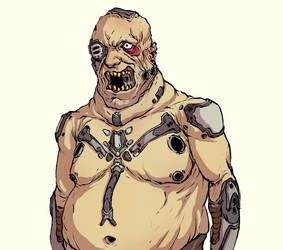 Fat Cyborg by JoakimOlofsson