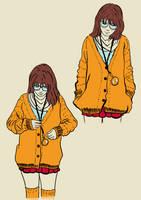 Hipster Velma by Mickken