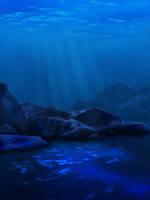 Premade Background - Sea by KuramaPhoenix