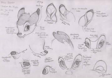 Klein Bambi Studien by ShungiLion