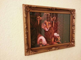 King of the Day - Framed Artwork by ShungiLion
