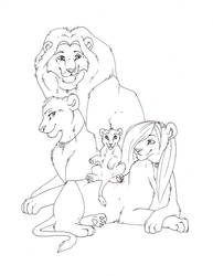 Another family portrait by ShungiLion