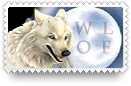 Wolf Stamp by barefootphotos