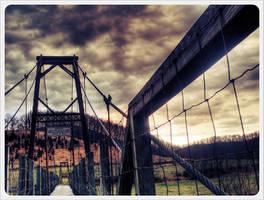 Swinging Bridge 4 by barefootphotos