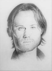 Jared pencil drawing by Emzazz