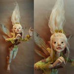 Available: OOAK Faerie Poseable Fantasy Art Doll by FaunleyFae