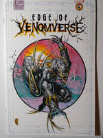 Venomized Black Panther Sketchcover by DanielDahl