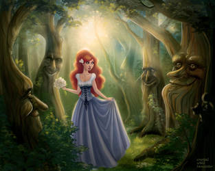 In The Trees by CrystalWallLancaster