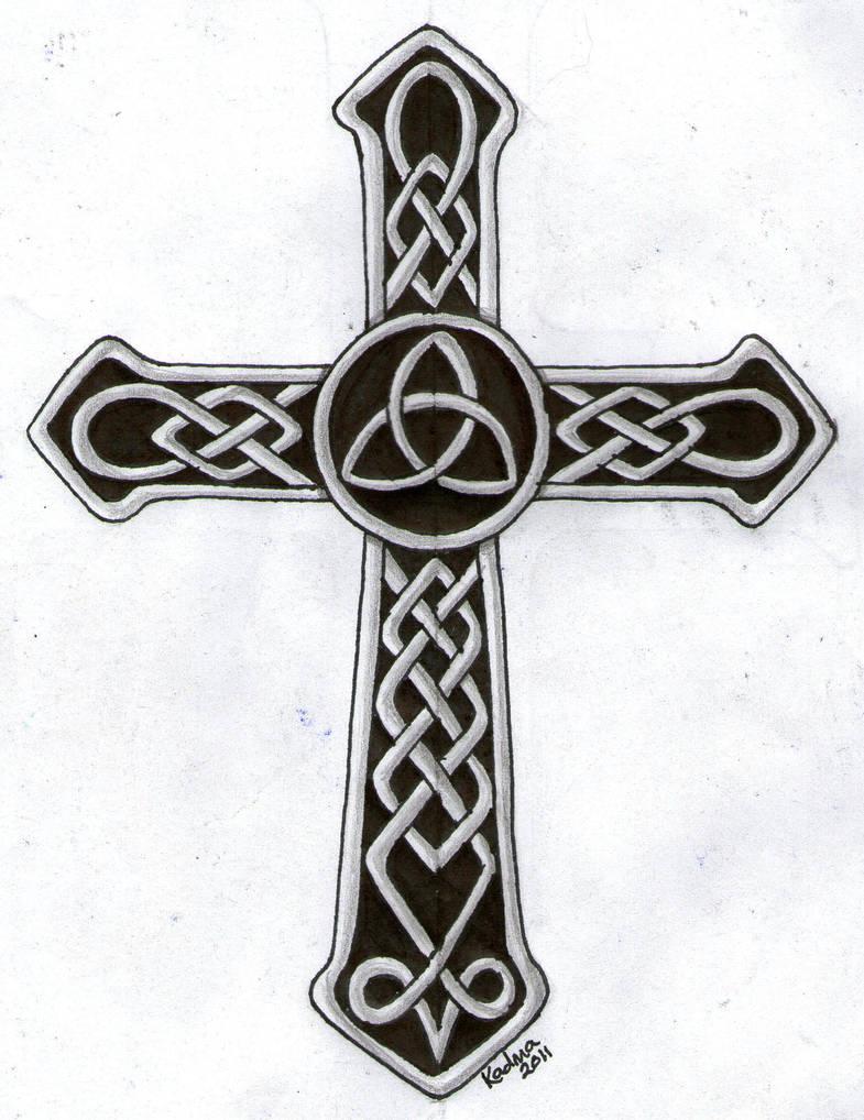 Celtic Cross Tattoo Design By Kad Ma On Deviantart