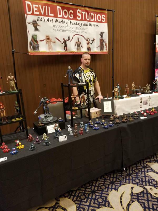 MonsterMania, fantastic convention! by Devildog0597