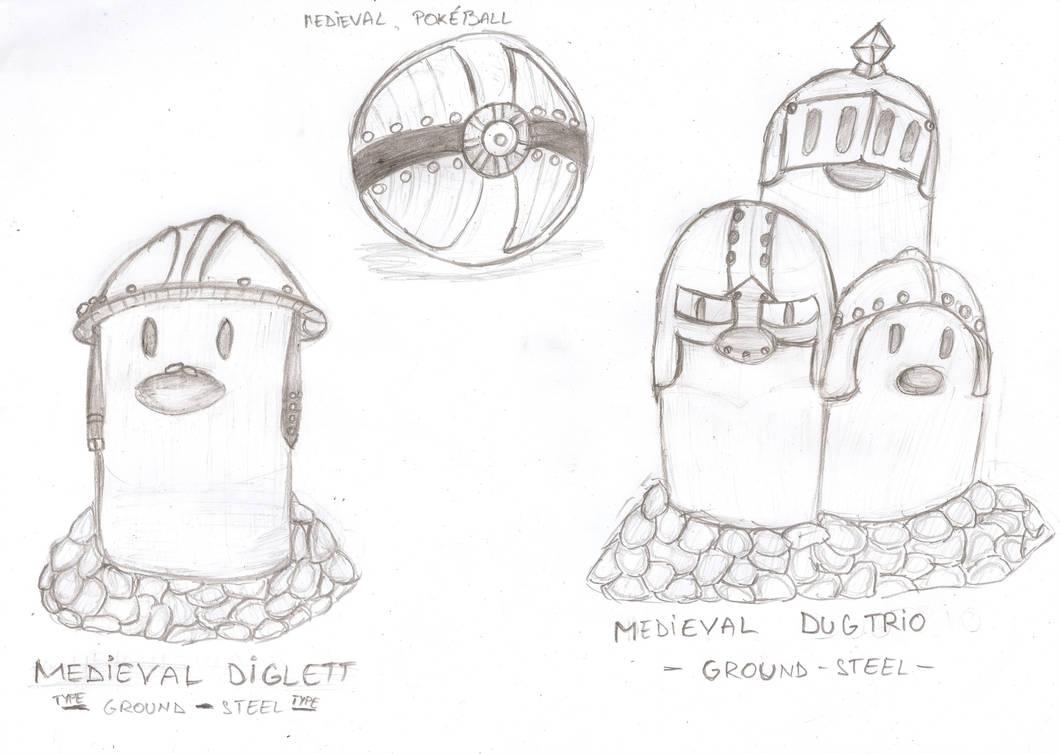 Medieval Diggers by Carpatianlion
