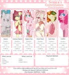 *_Ponies Commissions_* by Sonica-Chann