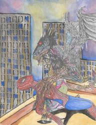 Gargoyle Symbiote by Shukibaby
