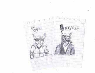 Dee and Luxford by ShatteringSword