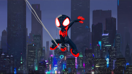 Spiderman into the spider verse by AutoJohnny