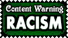 TW 23 RACISM by Dametora