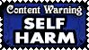 TW 12 SELF HARM by Dametora