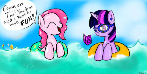 Summertime! by sketchypony123
