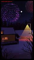 Happy new year 2010 by VikingMera