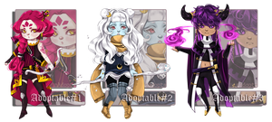 [CLOSED] Adoptable BATCH#1 [only $25 EACH!] by n-adopts