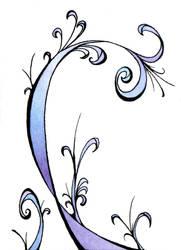 Flowery swirls by evenstar785
