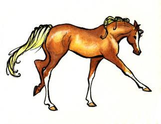 Chestnut Horse by evenstar785