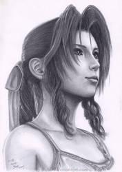Aerith Final Fantasy VII by B-AGT