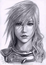 Lightning Final Fantasy XIII-2 by B-AGT