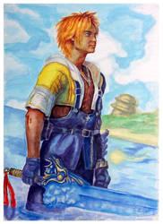 Tidus Final Fantasy X by B-AGT