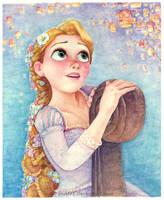 Rapunzel 7 - I see the light by B-AGT