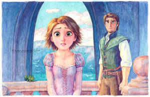 Rapunzel family reunion by B-AGT