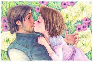 Rapunzel Full of Joy by B-AGT