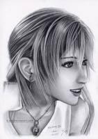 Serah Drawing 3 by B-AGT