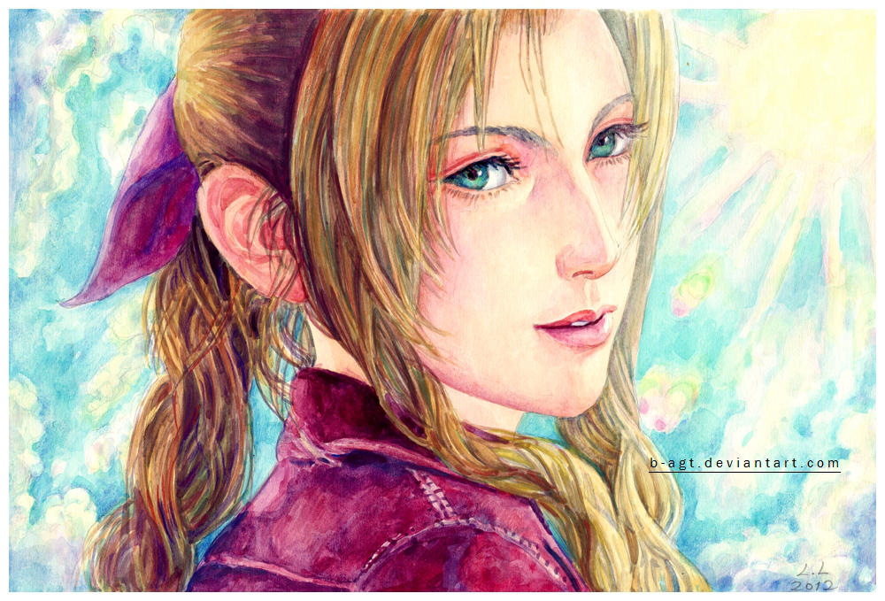 Aerith Gainsborough by B-AGT
