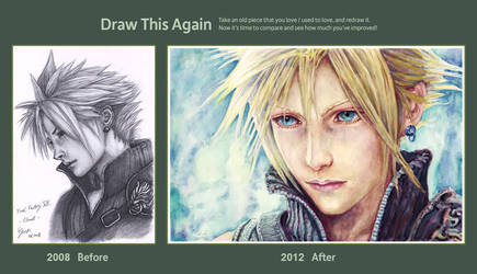 Draw This Again Contest: Cloud by B-AGT