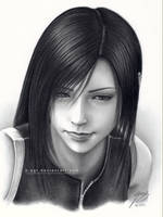 Tifa drawing 4 by B-AGT