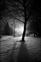 Snowy Yard by the0riginalSIN21