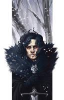 Jon Snow by kmwoot
