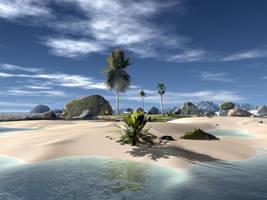 Paradise Beach by boss019