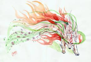 Goddess of Sun by Marzzunny