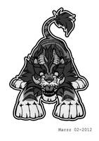 Tiger Beast by Marzzunny