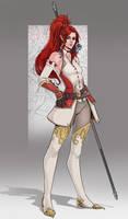 Helena Alvaran, Warlock of the Morncrown (Artagan) by SaintWalker1806