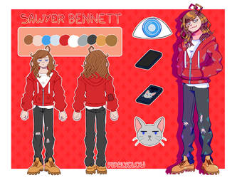 Sawyer Bennett [REFERENCE] by PearlyGlow