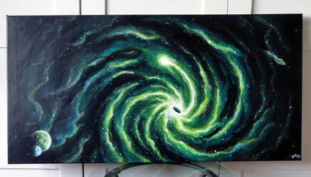 Green blackhole by atlantisdesetoiles