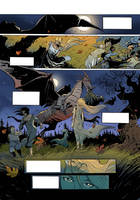 old man an the dragon p1colour by Jovan-Ukropina