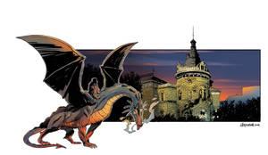 INTERNATIONAL COMICS FESTIVAL  SKC poster 2 by Jovan-Ukropina