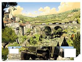 1940 ET SI LA FRANCE 3, frames by Jovan-Ukropina