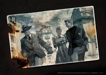 Et Si La France 3-back cover illustration by Jovan-Ukropina