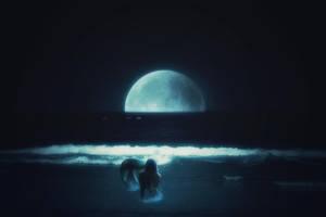 The Infinite Shore by AWanderingDryad